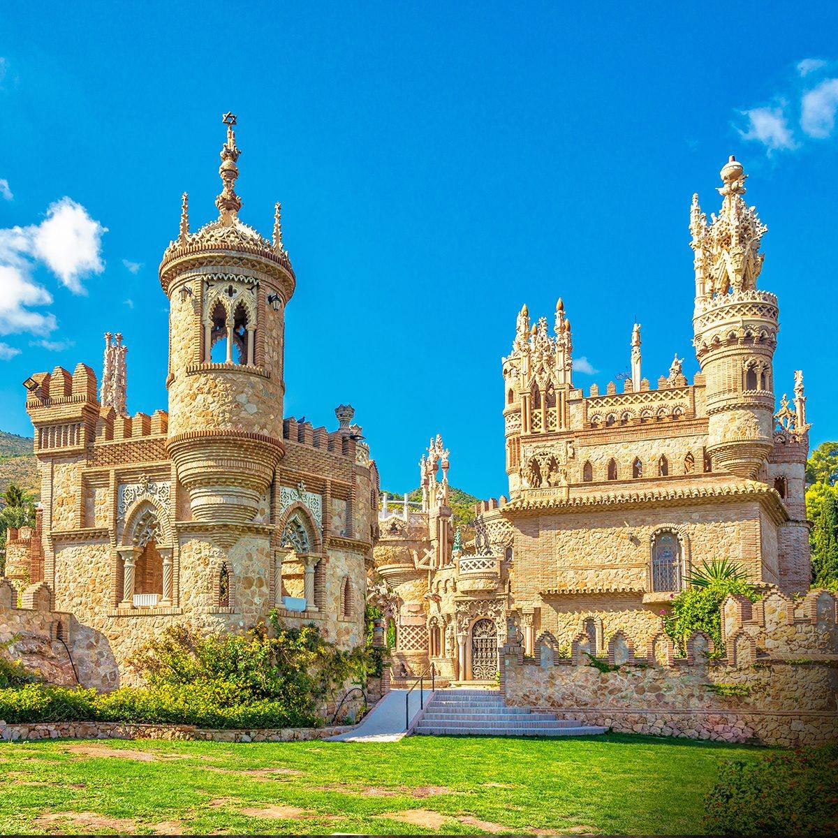 Достопримечательности Испании. Замок Коломарес